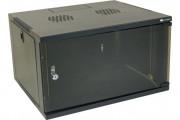 "19"" wall mount eco cabinet black 450 mm-6U"