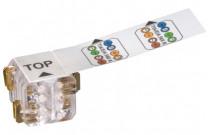 Megaline Connect45 cable plug multibrin (lot de 25)
